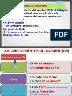 COMPLEMENTO DEL NOMBRE.pptx