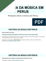 Apresentação - História Da Música Em Perus