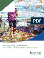 BENEO Brochure Functional Carbohydrates en 201707v2 Web