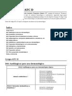 Anexo Código ATC D