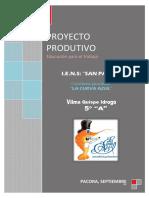 modelo de proyecto Ceviche Ria