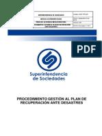 GINF PR 005 Procedimiento DRP