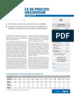 Boletín Índice de Precios Al Consumidor (Ipc) Julio 2018