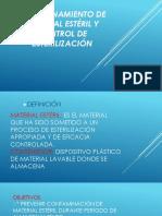 Almacenamiento de Material Estéril y Control de Esterilización