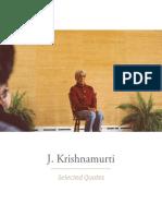 J.krishnamurti Selected Quotes (1)