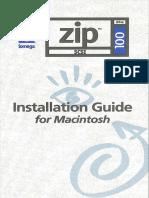 IOMEGA Zip 100 Drive Guides, SCSI