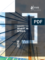 Where to Invest in Africa 2019 Edition
