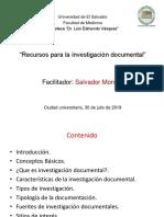 Recursos Para Una Investigacion-2019
