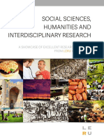 Social Sciences Humanities and Interdisciplinary Research Full Paper