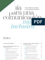 Guia Comunicacion Inclusiva- Cómo Elaborar Mensajes Con Perspectiva de Género -Prodigioso Volcán