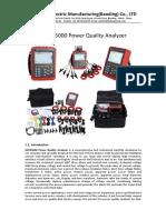 HZCR-5000 Power Quality Analyzer