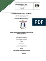 Esquema Diseño Organizacional Empresa-CREDISCOTIA