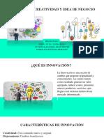 Innovacion Creatividad y Idea de Negocio