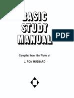Basic Study Manual BSM-1972