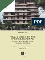 Modelação de Edifícios de Betão Armado Com Esforços Membranares Em Lajes