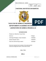 Informe Nº 4 - Química Orgánica II