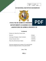 Informe Nº 6 - Química Orgánica II PDF