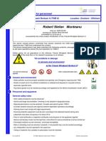 Windparkspezifische Sicherheitsunterweisung TWB II_Munteanu, Robert Stefan _2019!05!31_TWBII_English