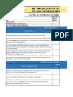 Lista de Chequeo Riesgo Publico.