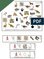 Lamina Desarrollo Cognitivo Dinosaurios A3