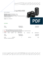 Infografia Nikon D5300