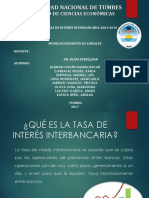Tasa de interés interbancaria 2001 - 2010