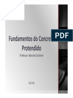 Fundamentos do concreto protendido