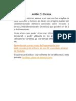Ejercicios de Arreglos en Java