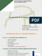 Panorama Finanzas Publicas RMartner