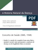 Historia Natural Da Doença e Absenteísmo