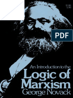 George Novack - An Introduction to the Logic of Marxism