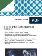 1. Big Bang Theory