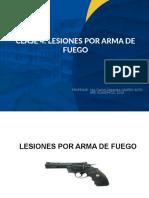 CLASE 5_ LESIONES POR ARMA DE  FUEGO_UNFV 2019.ppt