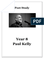 Paul Kelly booklet