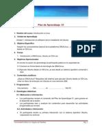 Plan de Aprendizaje 01