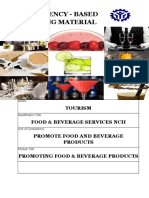 Promote Food and Beverages Products