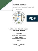 Masoneria 3er grado