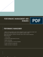 Performance Management and Rewards