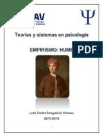 Teorías y Sistemas en Psicología EMPIRISMO HUME