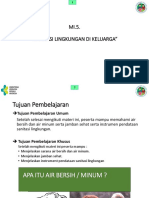 MODUL PELATIHAN KELUARGA SEHAT 2019 (MI 5. Sanitasi Lingkungan Keluarga)
