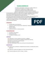 Monografia de Tecnica Indirecta de Incrustacion