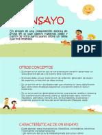 Diapositivas Sobre El Ensayo