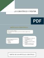 ARTÍCULO CIENTÍFICO Y PÓSTER.pptx