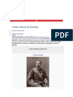 Don Carlos VII de España