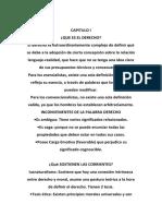 Capitulo i Introducción al Análisis del Derecho