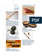 Instrumentos Autóctonos de Centro América
