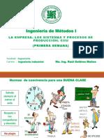 1ra Clase Empresa e Procesos Ind. 2019-II