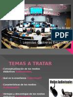 MEDIOS DIDÁCTICOS AUDIOVISUALES EXP..pptx