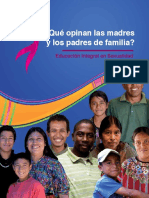 Que Opinan Padres y Madres EIS PV
