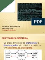 Tecnicas Modernas de Criptografia